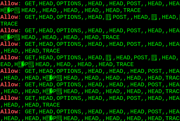 Optionsbleed - HTTP OPTIONS method can leak Apache's server
